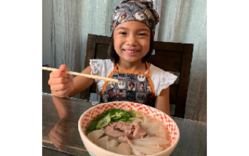 Genesis and her Pho recipe
