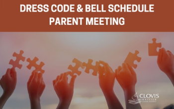 Dress code and bell schedule parent meeting