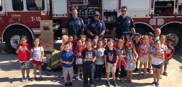 Kindergarten Community Helper Day