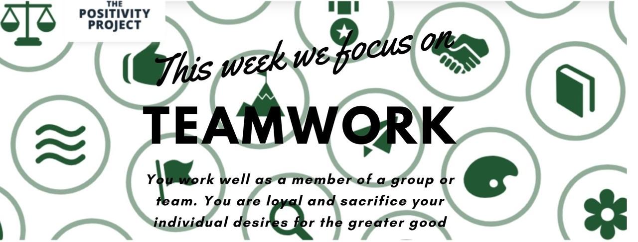 Positivity Project Teamwork