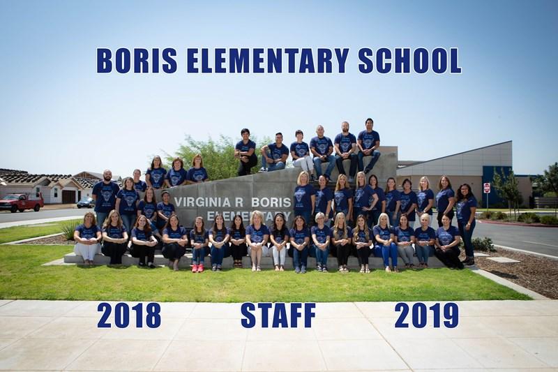 Staff members 2018