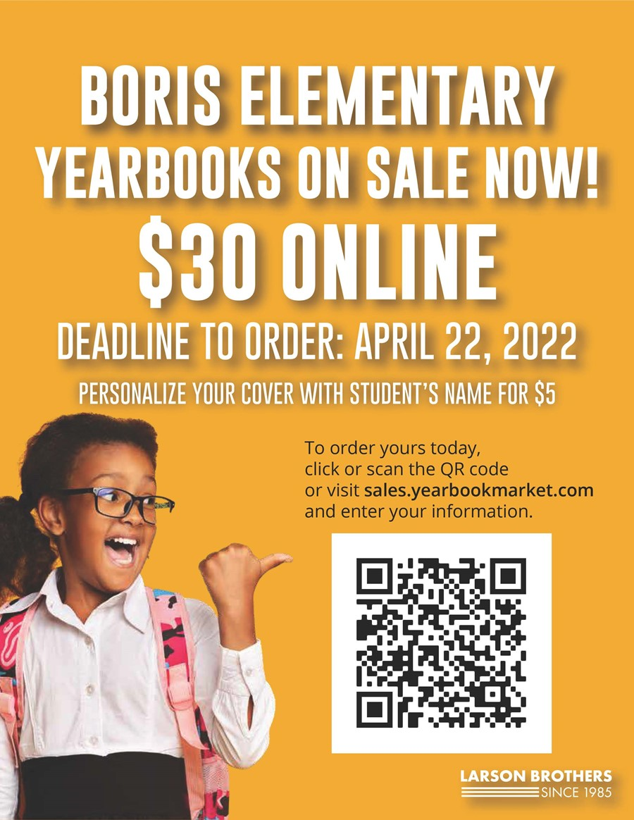 Order a Yearbook QR code